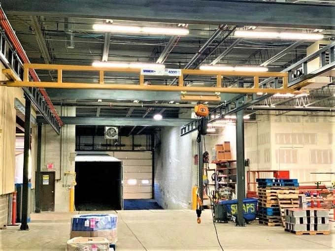 2 Ton Enclosed Track Bridge Crane
