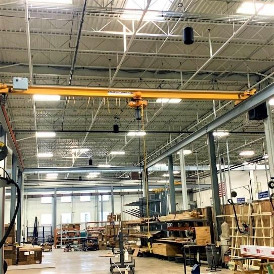 2 Ton Top Running Bridge Crane
