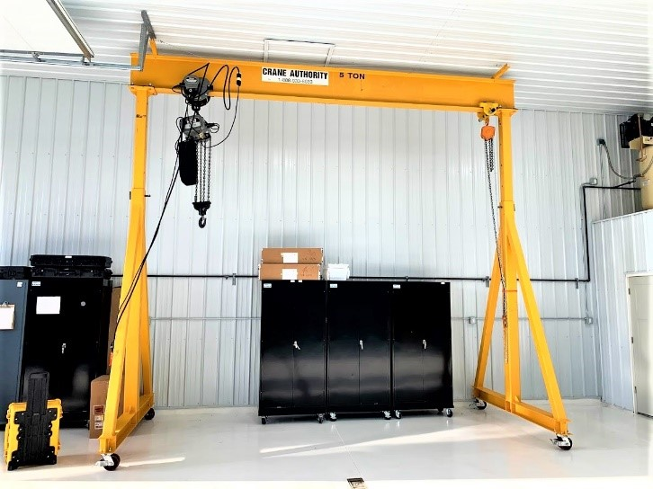 5 Ton Helicopter Hangar Gantry Crane