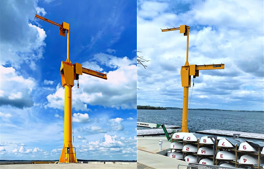 University of Wisconsin 5-Ton Jib Crane