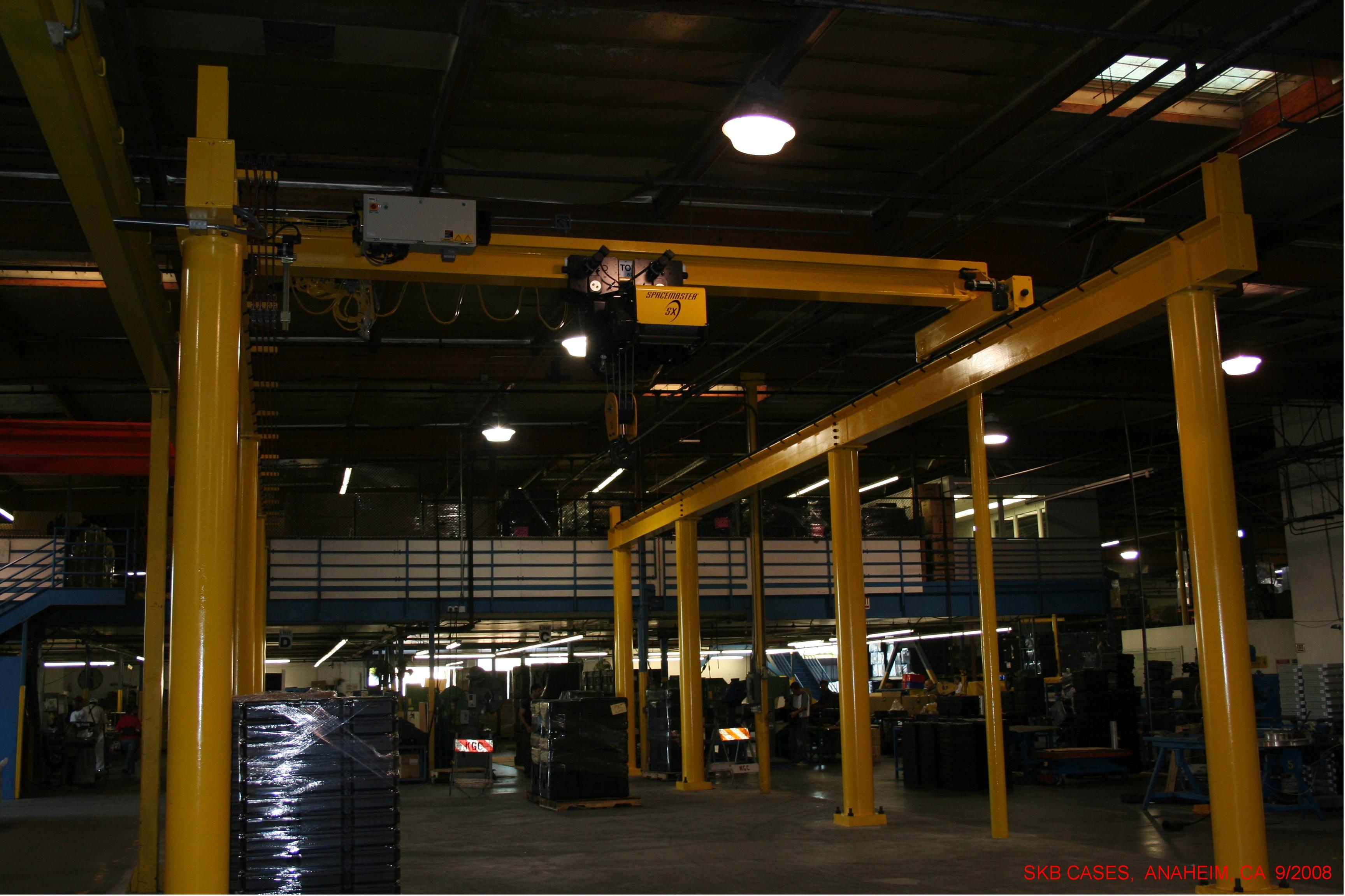 15-Ton Bridge Crane