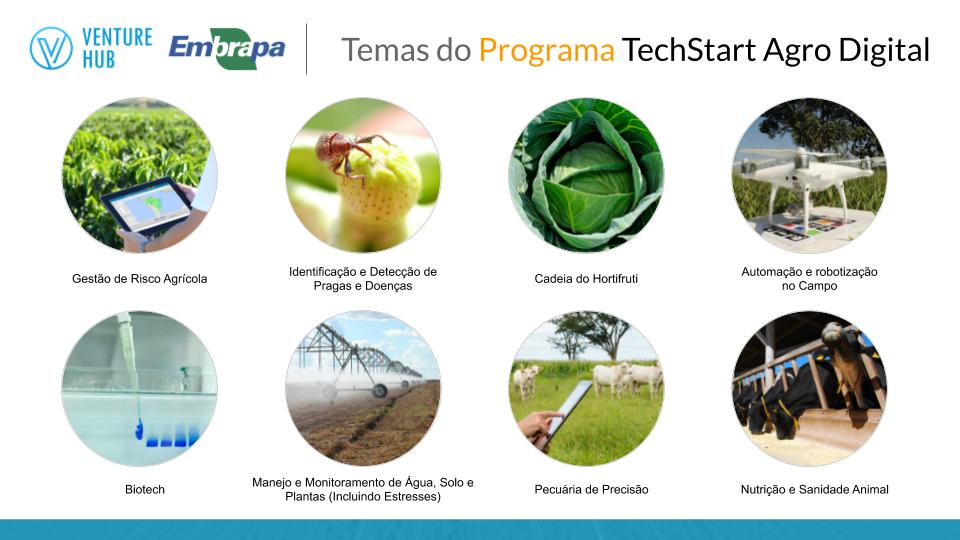 Temas TechStart Agro Digital
