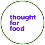 Logo Thought For Food colorido