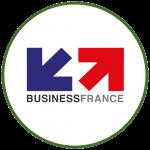 Logo Business France colorido