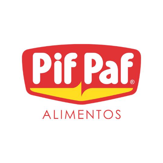 Pif Paf - Patrocinador - Logo Colorido - Redondo