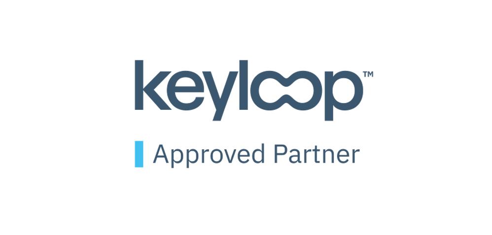 Keyloop with white BG