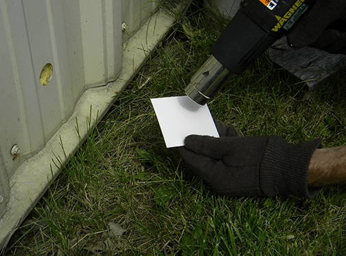 Heating Up Repair Patch