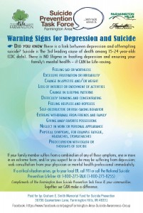 Suicide Prevention Magnet