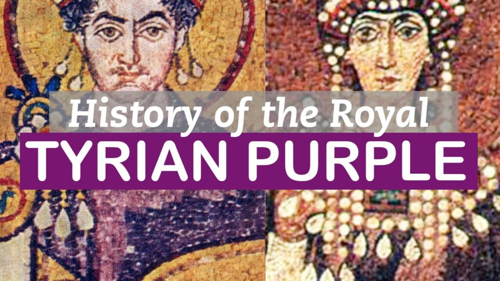History of the royal Tyrian Purple banner