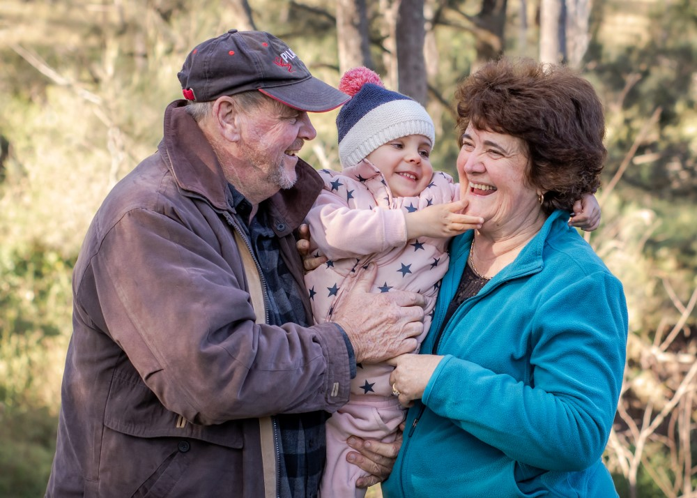 Outdoor family photography Ipswich
