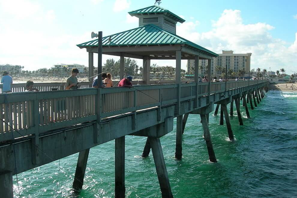 Deerfield Beach residents not worrying about their plumbing!