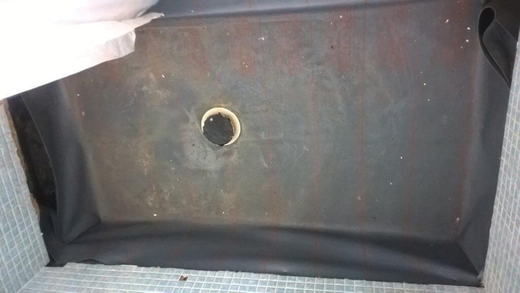 Shower Pan in Delray Beach bathroom