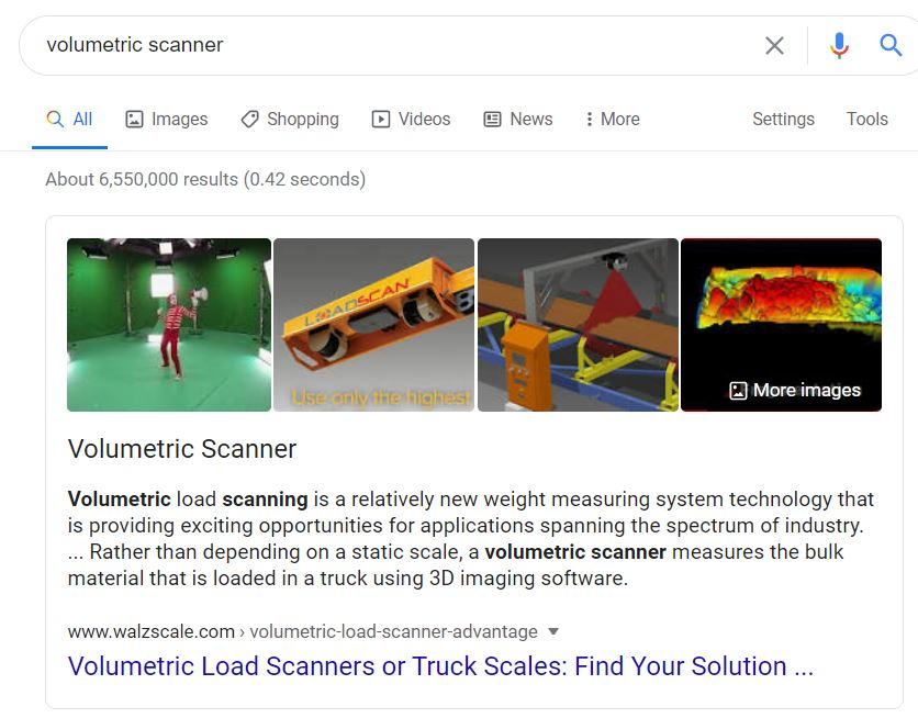 walz scale manufacturing seo case study featured snippet