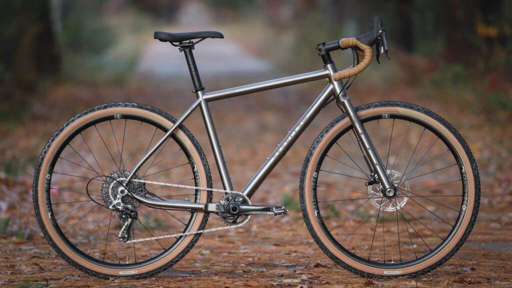 My Titanium Gravel Bike