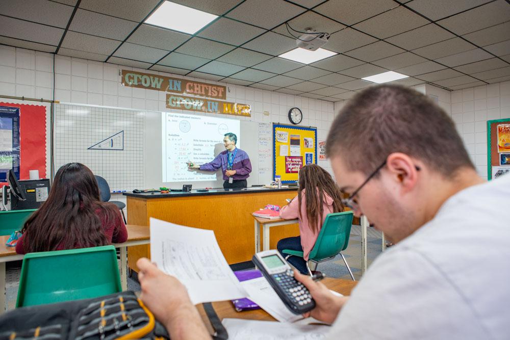 Dakota Adventist Academy Classroom