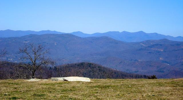 Beautiful View from Bearwallow Mountain
