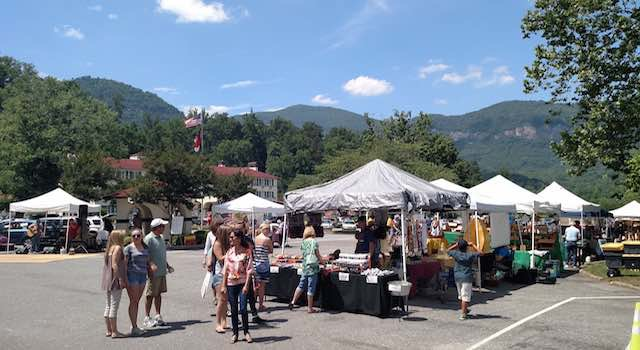Lake Lure Arts & Crafts Festival-Scenic View