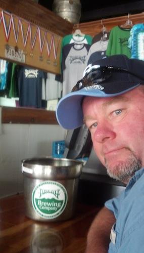 Mike at Pisgah Brewing