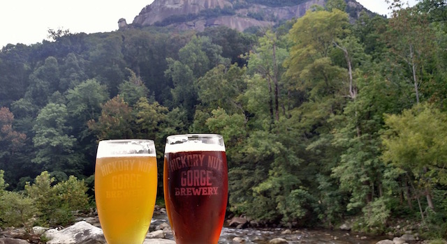 Hickory Nut Gorge Brewery