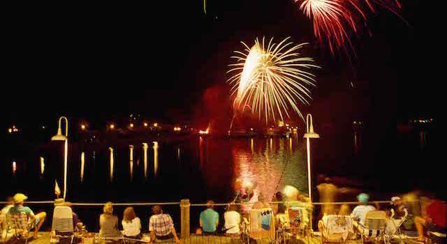 Lake Lure Fireworks