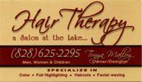 Hair Therapy Hair Salon Lake Lure, NC