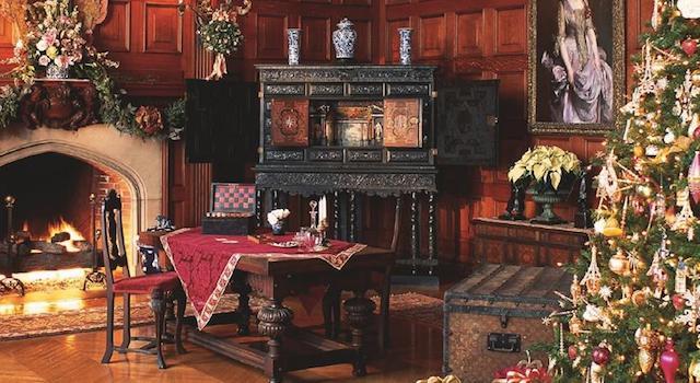 Biltmore Estate Asheville Christmas Attraction