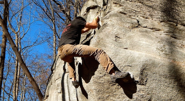Triple Crown of Bouldering - Rumbling Bald Mountain