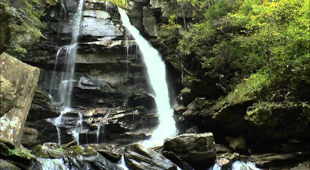 Big Bradley Falls Saluda NC