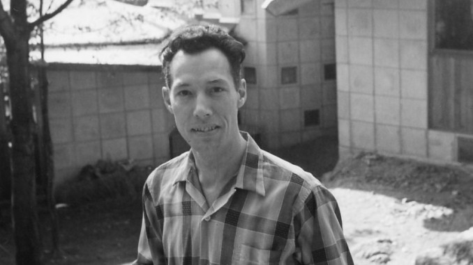 1959 JW Strutt on site