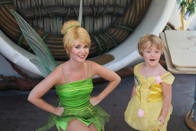 Pixie Hollow- Disneyland