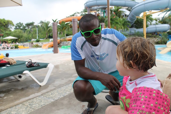 Examples of the incredible staff we encountered on our Beaches Resorts all inclusive vacations