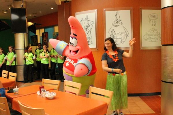 Character Dining at the Nick Hotel Orlando Florida