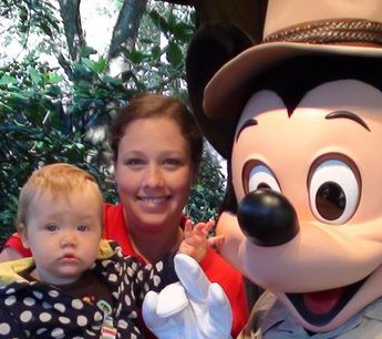 Disney alone with toddler and baby