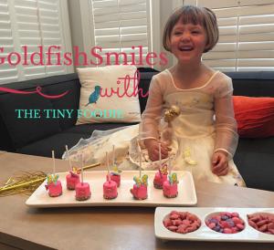 Goldfish Marshmallow Pops Recipe