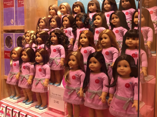 American Girl Specialty Boutique Toronto Eaton Centre