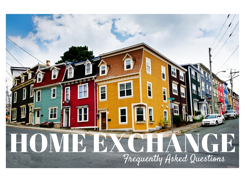 HOME EXCHANGE Frequently Asked Questions