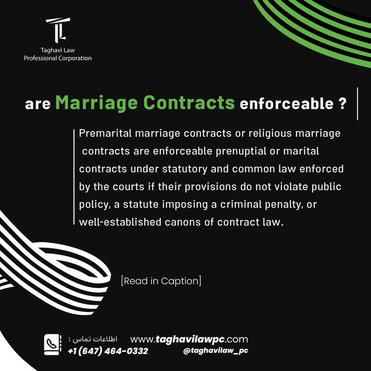 If spouses separate and divorce without a marriage contract