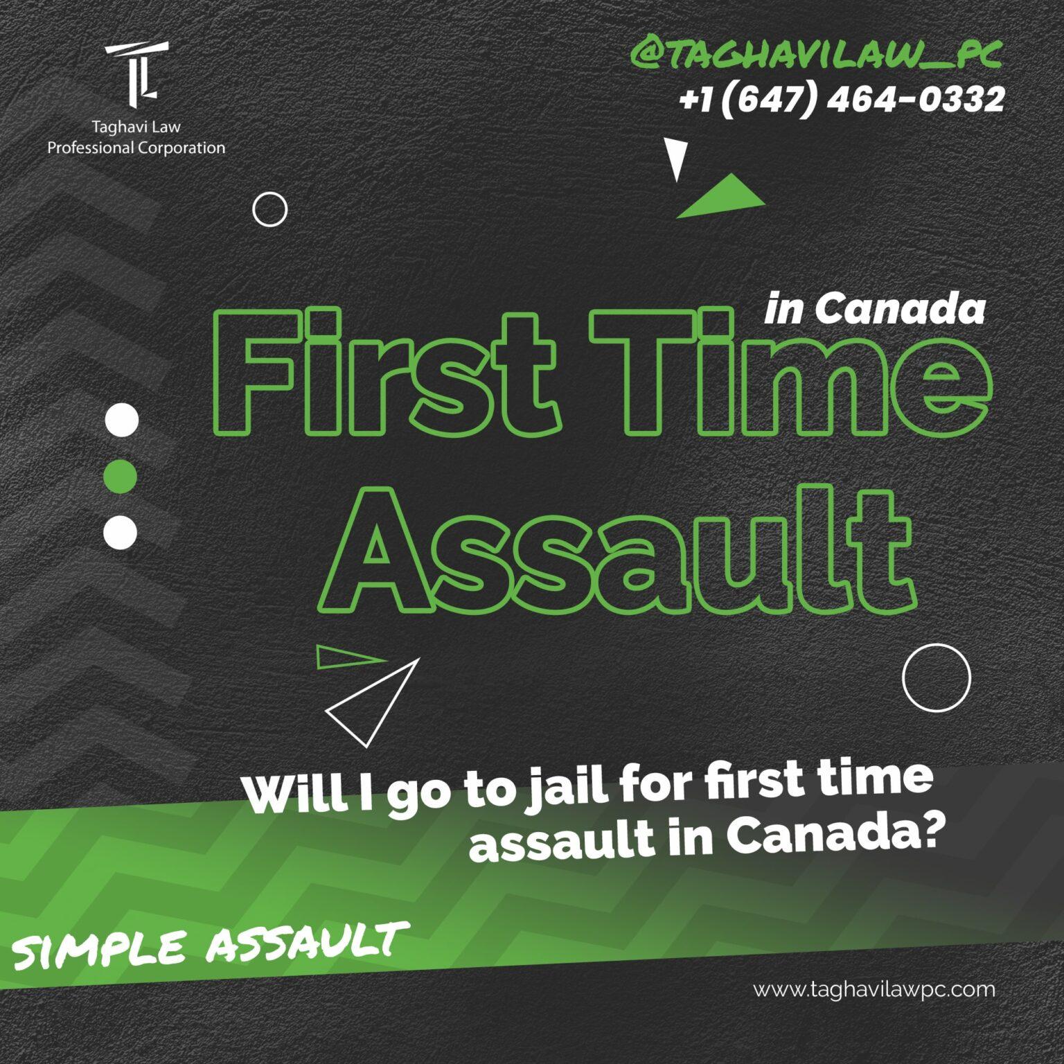 first time assault