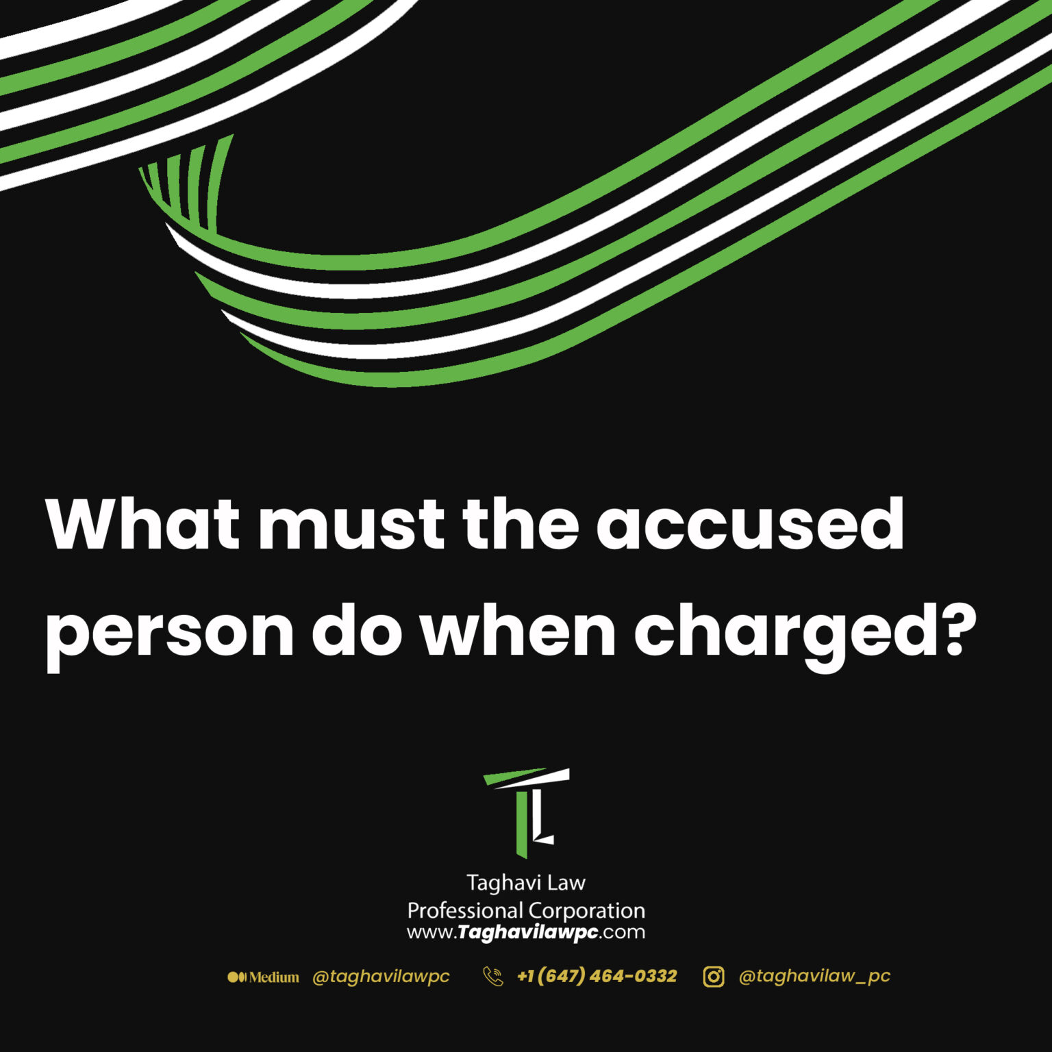accused person