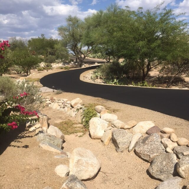 Residential Driveway Sealcoat Oro Valley