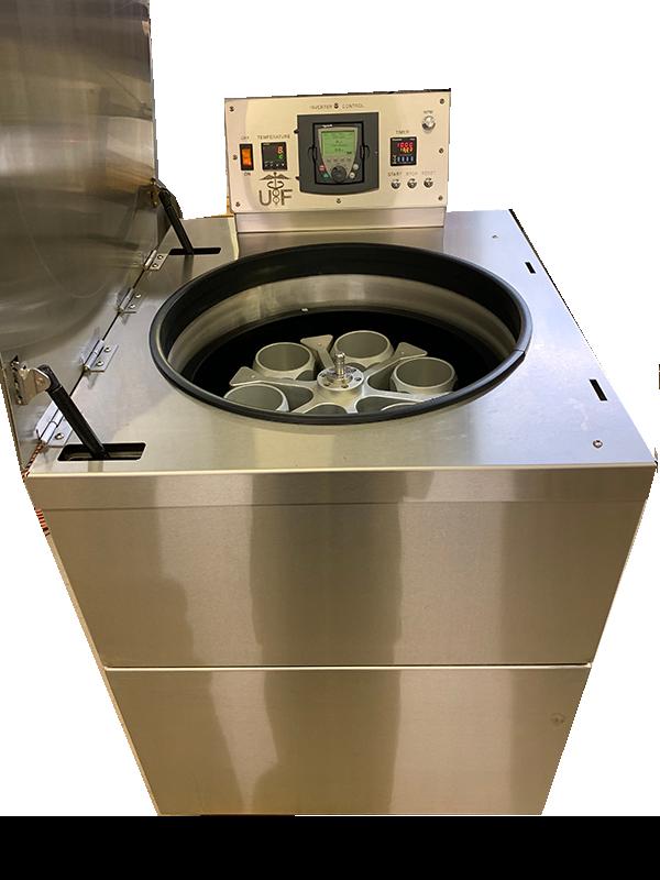 Floor model centrifuge