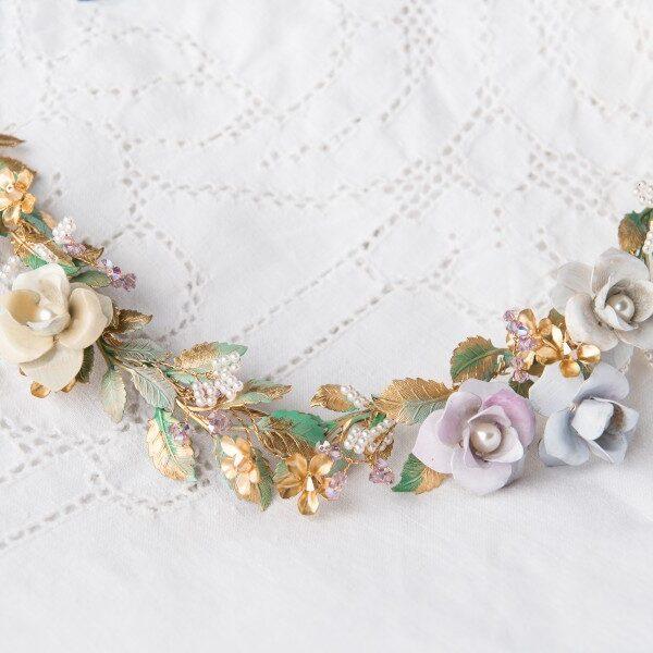 bridal tiaras wedding hair accessories custom bride jewelry elegant floral accents