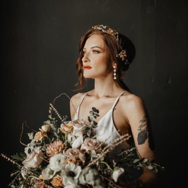luxury bridal tiaras elegant wedding accessories calliope headpiece