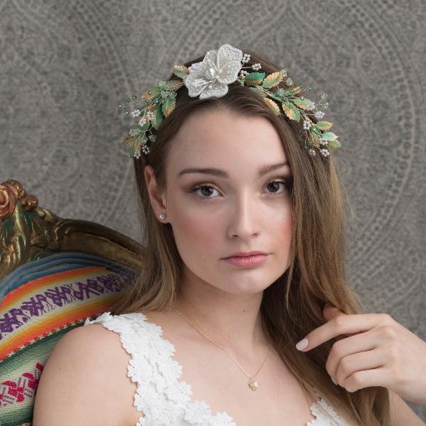 bridal hair vines luxury wedding jewelry handmade bridal accessories