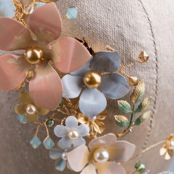 elegant floral tiaras bridal tiaras wedding accessories