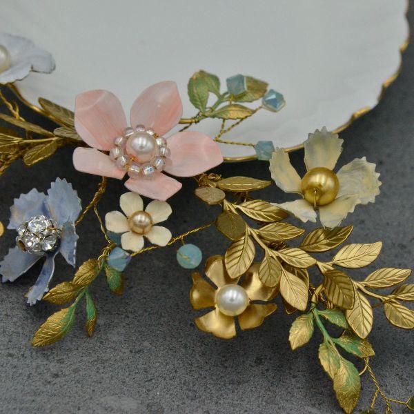luxury bridal accessories hair vines tiaras wedding jewelry