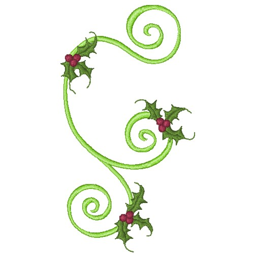Accent Scroll with Holly