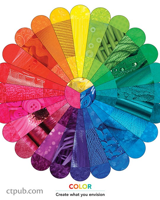 Color Wheel Poster by C & T Publishing