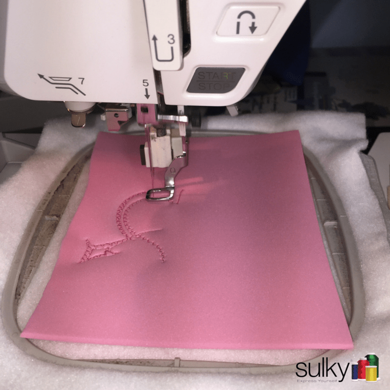 Puffy Foam embroidery