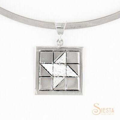 Sterling Silver Medium Friendship Star Pendant